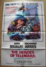 Heroes of Telemark Film Poster One Sheet